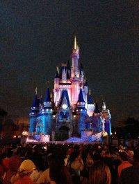 Zamek w DisneyWorld